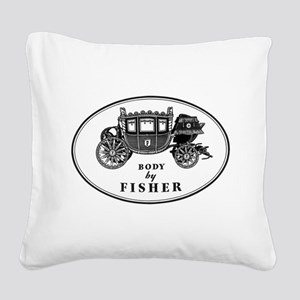 Miscellaneous Logo Square Canvas Pillow