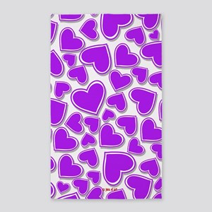 Hearts Area Rug
