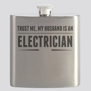 My Husband Is An Electrician Flask