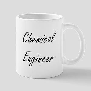 Chemical Engineer Artistic Job Design Mugs