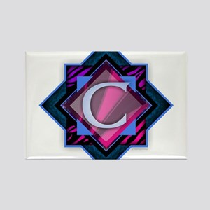 Classy Brilliant Monogram C Magnets