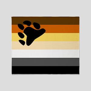 Bear Flag Throw Blanket