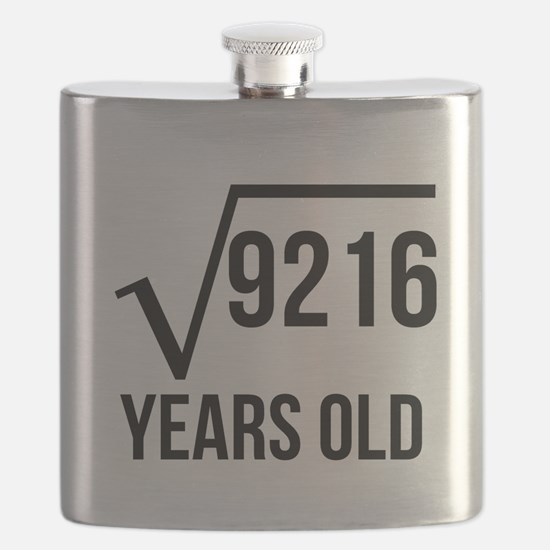96 Years Old Square Root Flask