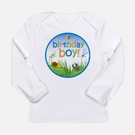 Bug Birthday Boy Long Sleeve T-Shirt
