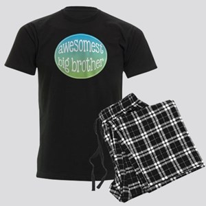 Awesomest Big Brother Men's Dark Pajamas