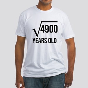 70 Years Old Square Root T-Shirt
