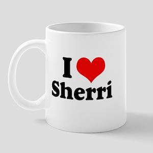 I Heart Sherri Mug