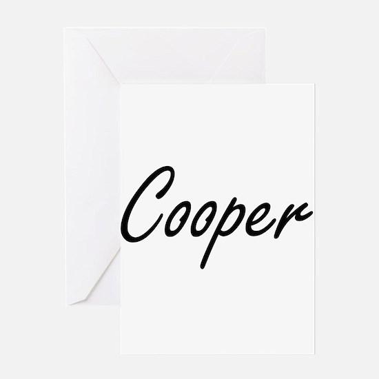 Cooper Artistic Job Design Greeting Cards