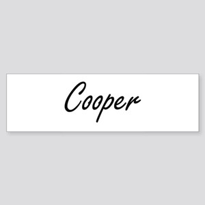 Cooper Artistic Job Design Bumper Sticker