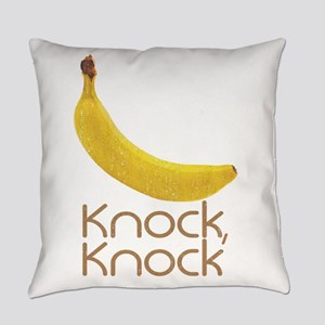 Banana Knock Knock Everyday Pillow