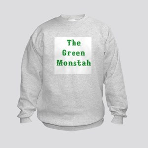 Green Monstah Kids Sweatshirt