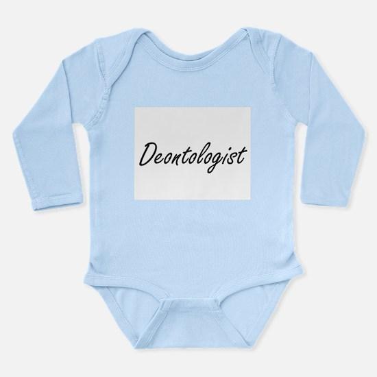 Deontologist Artistic Job Design Body Suit