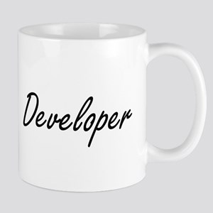 Developer Artistic Job Design Mugs