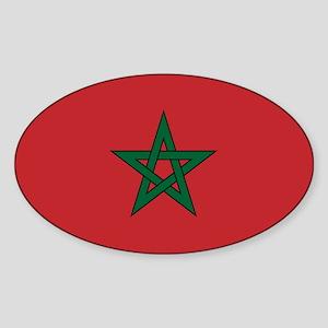 Moorish Sticker (oval)