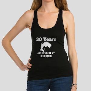 30 Years Best Catch Racerback Tank Top