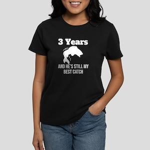 3 Years Best Catch T-Shirt