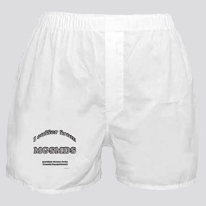 Swissy Syndrome Boxer Shorts