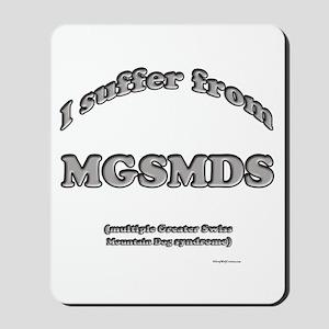 Swissy Syndrome Mousepad