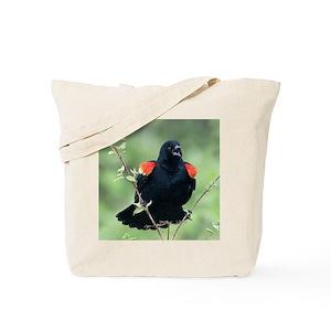 6cb21e26f140 Blackbird Canvas Tote Bags - CafePress