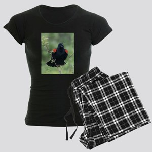 Red-Winged Blackbird Women's Dark Pajamas
