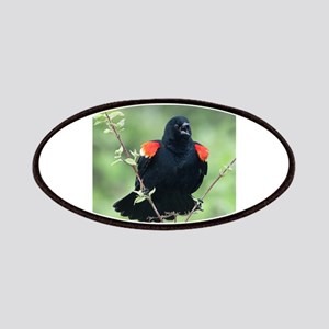 Red-Winged Blackbird Patch