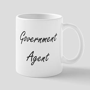 Government Agent Artistic Job Design Mugs