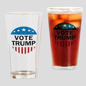 Vote Trump Drinking Glass