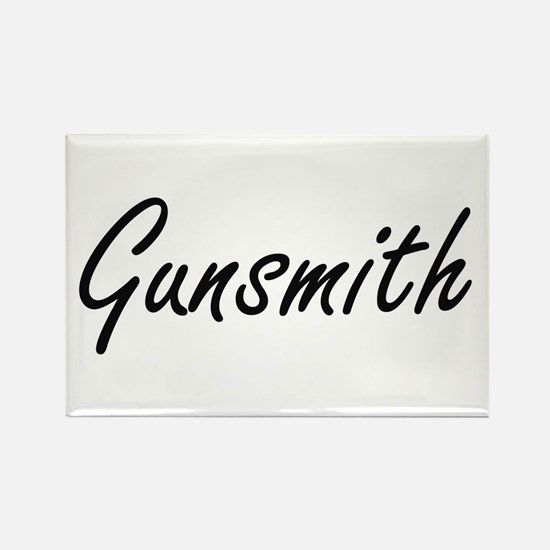 Gunsmith Artistic Job Design Magnets