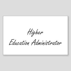 Higher Education Administrator Artistic Jo Sticker