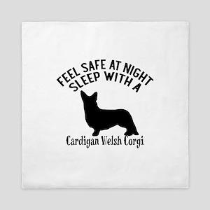 Sleep With Cardigan Welsh Corgi Dog De Queen Duvet
