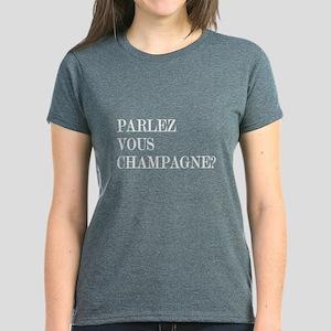 Parlez Vous Champagne? Women's Dark T-Shirt