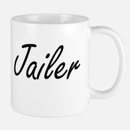 Jailer Artistic Job Design Mugs