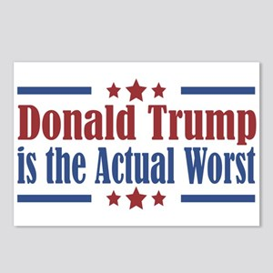 Trump Actual Worst Postcards (Package of 8)