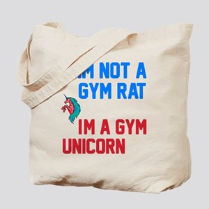 Gym Unicorn Tote Bag