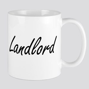 Landlord Artistic Job Design Mugs