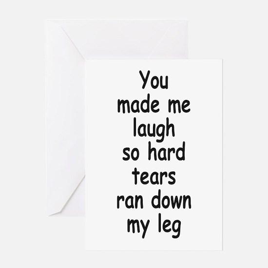 Laugh So Hard 3 Greeting Cards
