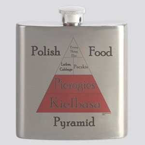 Polish Food Pyramid Flask