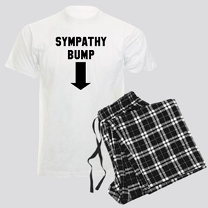 Expecting dad sympathy bump Men's Light Pajamas