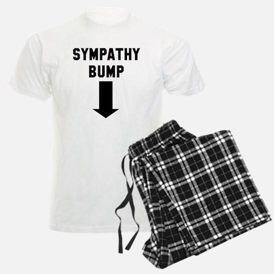 Expecting dad sympathy bump Pajamas