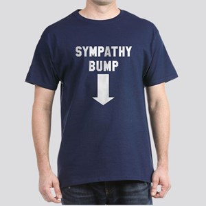 Expecting dad sympathy bump Dark T-Shirt