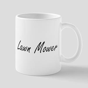 Lawn Mower Artistic Job Design Mugs