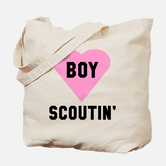 Boy Scoutin' Tote Bag
