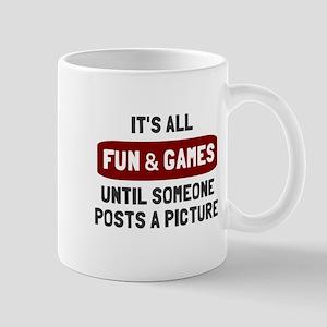 Fun games posts picture Mug