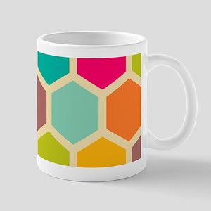 Hexagon Retro Mug