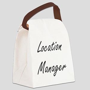 Location Manager Artistic Job Des Canvas Lunch Bag