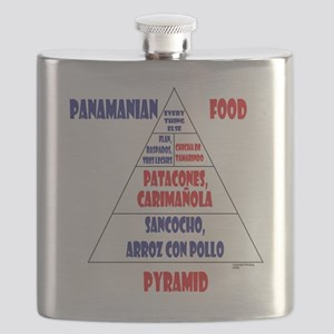 Panamanian Food Pyramid Flask
