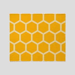 Honeycomb Hexagon Throw Blanket