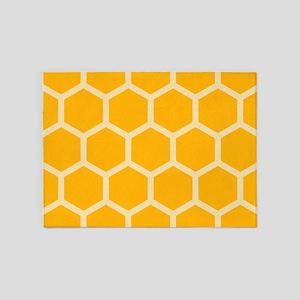 Honeycomb Hexagon 5'x7'Area Rug