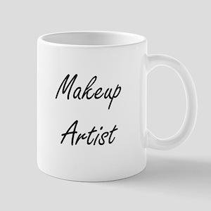 Makeup Artist Artistic Job Design Mugs