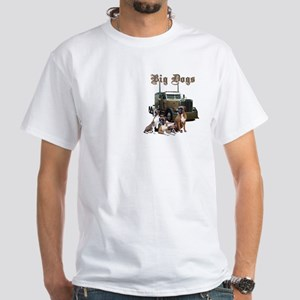 Big Dogs White T-Shirt